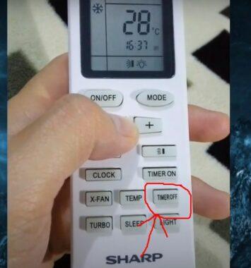 Arti Simbol-Remote-AC-Sharp