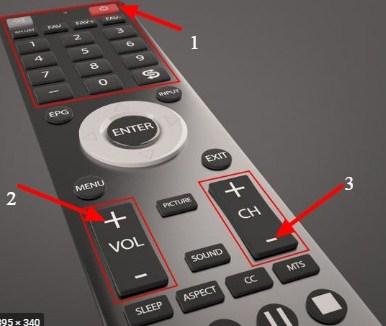 Cara Membuka Remot TV