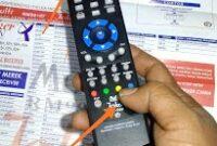 Cara Setting Kode Remot TV Akari