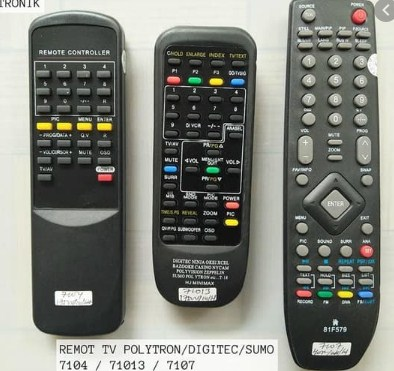 Kode Remot ke TV Polytron