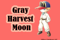 Gray Harvest Moon